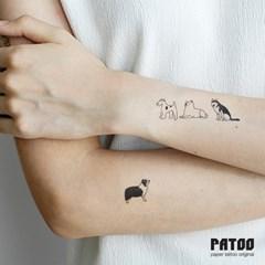 파투 타투스티커 모음