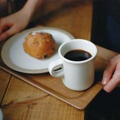 킨토 슬로우 커피 스타일 트레이 월넛 S_(1327761)