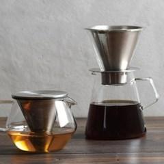 킨토 캐럿 커피 드리퍼 & 포트 세트_(1327710)