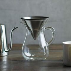 킨토 슬로우 커피 스타일 커피 카라페 600ml_(1327709)