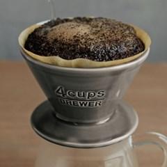 킨토 슬로우 커피 스타일 코튼 페이퍼 필터 4컵(60매)_(1327706)