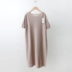 Hoega Cotton Ruffle Dress - 반팔