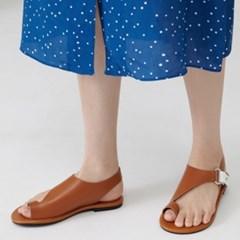 plain sandal (3colors)_(1337820)