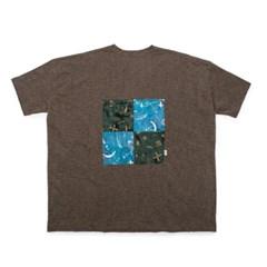 [Matt And Mel x M.Nii] Handcrafted T-Shirt - Brown