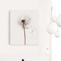 캔버스 모던 인테리어 식물 그림 모노톤 액자 민들레