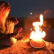 캠프파이어 휴대용 모닥불 장작 불멍 라디에이트