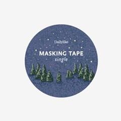Masking tape single - 143 Night forest