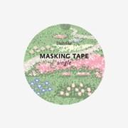 Masking tape single - 148 Flower bed