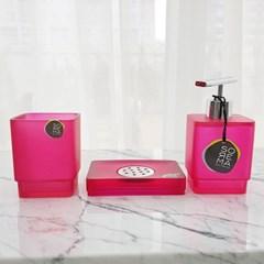 소레마 프로스트 핑크 3종용기