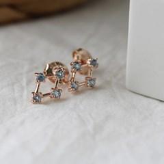 블루 토파즈 딜라이트 귀걸이(11월탄생석)