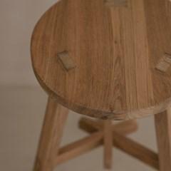 [로렌] 티크고재 바스툴 이든 eden bar stool