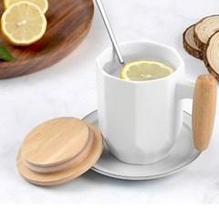 MODERN CAFE WOOD CALSSIC 머그컵 우드캡포함