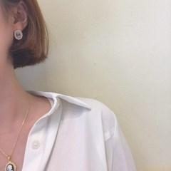 [빈티지 진주 귀걸이] 노블레스 이어링