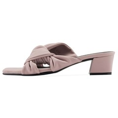 SPUR[스퍼] 뮬 OS9093 Pleats ribbon mule 라벤더