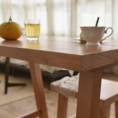 소피드메종 헬렌 프렌치st 원목 2인 식탁세트(테이블+의자2) HL092