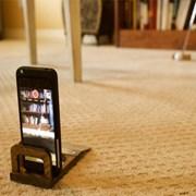 휴대용 퍼팅연습기와 셀카 자세교정을 동시에