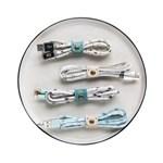 [숲의 이야기] 고속 충전 USB케이블 (예쁜 케이스와 클립 포함)