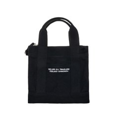 VIAMONOH DAILY MINI CANVAS BAG (BLACK) 에코백 토트백_(1049039)
