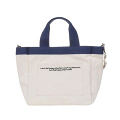 VIAMONOH DAILY MINI TOTE CANVAS BAG (IVORY) 에코백_(1049036)
