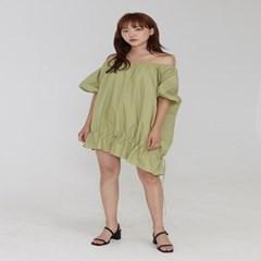 volume string dress (3colors)_(1343060)