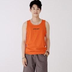슬리버 3902 슈퍼소니 민소매 티셔츠 오렌지_(2413240)