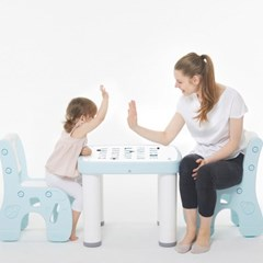 아이팜 All new 마시멜로 책상의자 영어 유아책상