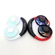 독일 베커 정품 넥크로스선풍기 넥밴드선풍기 LED 넥선풍기
