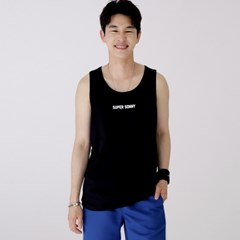 슬리버 3902 슈퍼소니 민소매 티셔츠 블랙_(2415016)