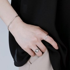 (92.5 silver) oval vintage ring