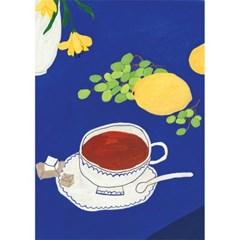 청포도와 레몬