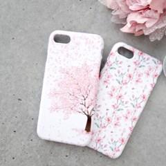 프리미엄 벚꽃날리는 날(아이폰XS MAX)