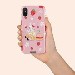 딸기가 좋아 Pink version 케이스