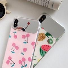 상큼한 과일 셀카 미러 아이폰 케이스