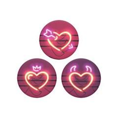 팝미니 네온 하트 PopMinis Neon Hearts