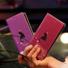 LG X6 2019 (LG X625) Ventosa-Melodia 수제 지갑 다이어리 케이스
