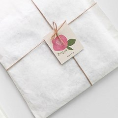 분홍 동백꽃 감사택(10개)
