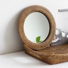 nay 라탄 거울