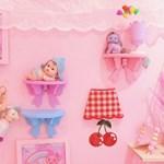 1+1 마카롱 리본 벽걸이 벽 선반 5color 인싸 핑크 홈데코 소품