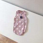 [T.크림도트 민소매]Creamdot sleeveless T_Violet