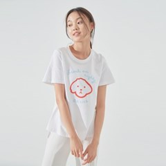 BBAMA T-SHIRT (WHITE/ RED)