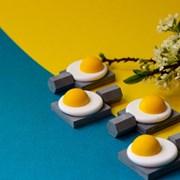 깜찍한 계란프라이 방향오브제