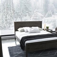 [DANJAM] 단잠 디프 원목 침대,독립매트(Q)