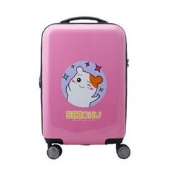 깜찍발랄 핑크 에비츄 기내용 20인치 캐리어 TSA락 확장기능 캐리어