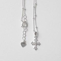 925순은 클로버 십자가 발찌 (SB131 Petit Cross)