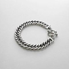 빈티지 체인 토글바 은팔찌 (SB112 Rokin Chain)
