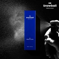 국내최초 뿌리는 남성청결제 스노볼 Snowball