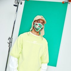 a pury CAMO MASK GREEN 그린 패션 마스크 에이퓨리_(1176941)