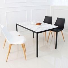 비앙코 4인 식탁세트 테이블 마블 대리석st 화이트마블