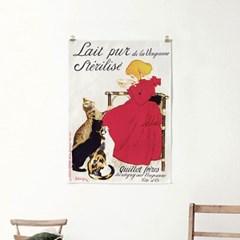 패브릭 포스터 일러스트 그림 레터링 액자 빈티지 19