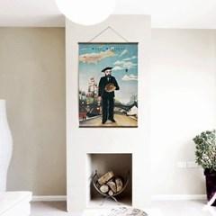 패브릭 포스터 명화 그림 빈티지 천 액자 앙리 루소 7